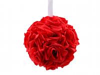 Koule z růží - malinová