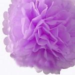 Pom-pom - koule sv.fialová - 20cm