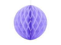 Honeycomb - koule sv.fialová - 30cm