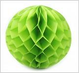Honeycomb - koule zelená - 30cm