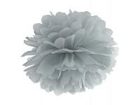 Pom-pom - koule sv.šedá - 35 cm