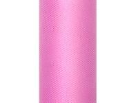 Tyl dekorační 15cm/9m - starorůžový