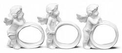 Anděl bílý - kroužek na ubrousky