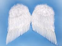 Andělská křídla - bílá - 55x 45 cm