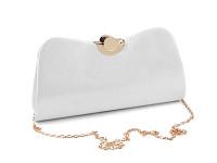 Společenská kabelka metalická - zlatá