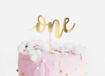 Zápich do dortu - novomanželé, pejsek a kočička