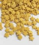 Cukrové vločky 9 mm - zlaté - 40g