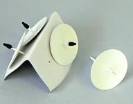 Bodec bílý - pod svíce - 4ks