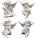 Anděl sedící - s diamantem - 1 ks