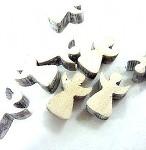 Dřevění andílci 2 cm - 10 ks