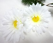 Květ kopretiny 7 cm - 1 ks
