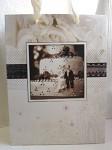 Dárková svatební taška malá - dort