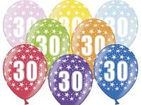 Narozeninové balonky - 30. narozeniny - 1ks