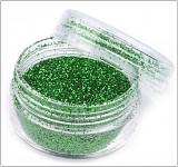 Práškové glitry 4,5g - zelené