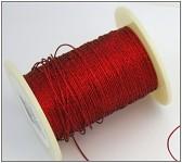 Gympa červená metalická - slabá