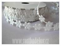 Květinky 10mm bílé - 1m