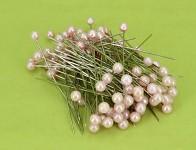 Špendlík - sv.růžová  perla velká-1ks