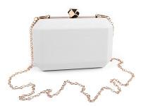 Společenské psaníčko s flitry- červené