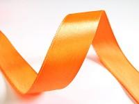 Saténová stuha 10mm - oranžová - 1m