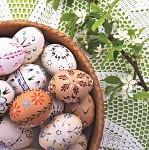 Ubrousky velikonoční kraslice - 20 ks