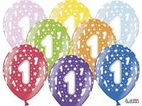 Narozeninové balonky - 1. narozeniny - 1 ks