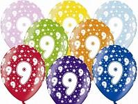 Narozeninové balonky - 9. narozeniny - 1 ks