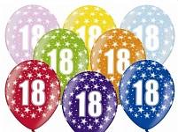 Narozeninové balonky - 18. narozeniny - 1 ks