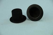 Cylindr mini semiš černý - 35 mm