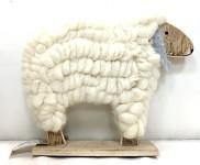 Ovečka vlněná velká - bílá
