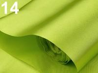 Saténová role - jarní zelená  - 9m