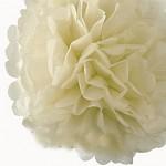 Pom-pom - koule krémová - 35 cm
