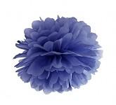 Pom-pom - koule tm.modrá - 35 cm