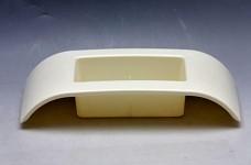 Aranžovací miska plastová krátká - krémová