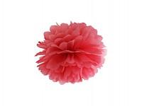 Pom-pom - koule červená - 24 cm