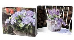 Dárková taška - květiny