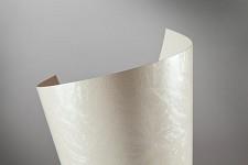 Tvrdý perleťový papír - bílý Frost - A4