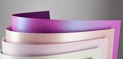 Tvrdý perleťový papír - fialový Millenium - A4
