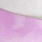 Tvrdý perleťový papír - bílé mraky - A4