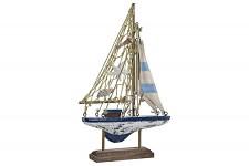 Loďka dřevěná malá - 23 cm