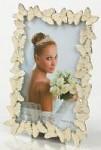 Fotorámeček svatební s motýly - 10x15cm