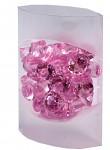 Broušené diamanty velké -  starorůžové  - 45ks
