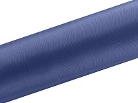 Saténová role - tm.modrá navy - 15cm/9m