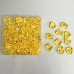 Akrylové krystaly - sv.oranžové