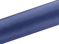 Saténová role - tm.modrá navy  - 9 m