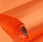 Saténová role - oranžová  - 9 m