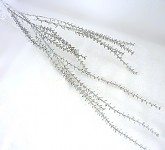 Větvičky  - stříbrné zasněžené