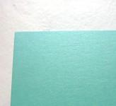 Tvrdý perleťový papír - mátový - A4
