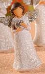 Anděl Beátka - srdce glitr