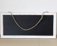 Dřevěná křídová tabulka patina - 70cm