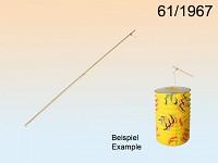 Dřevěná hůlka k lampionu - 60cm